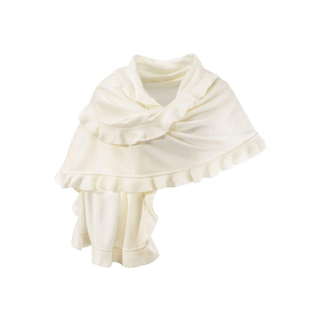 PURSET Schal, Poncho mit Rüschen