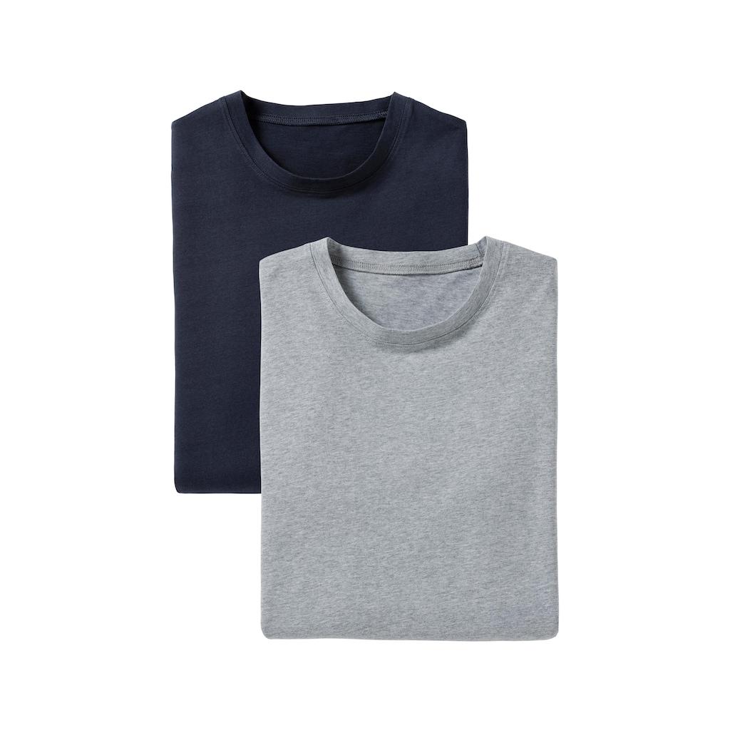 Bench. T-Shirt »Homewear«, Basic in uni