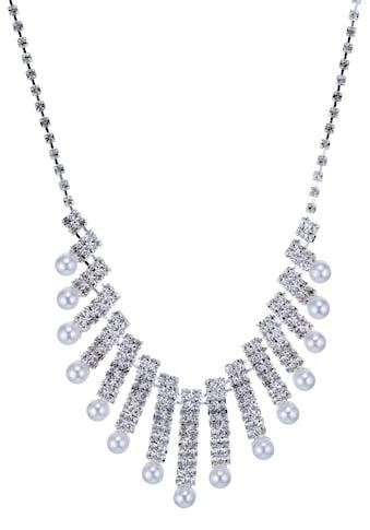 J.Jayz Collier »im edlen Glamour-Look«, mit Glassteinen und Acrylperlen kaufen