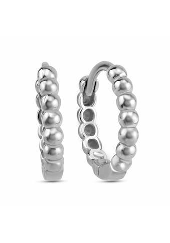dKeniz Creolen »925/ -  Sterling Silber Kugel - Creolen« kaufen