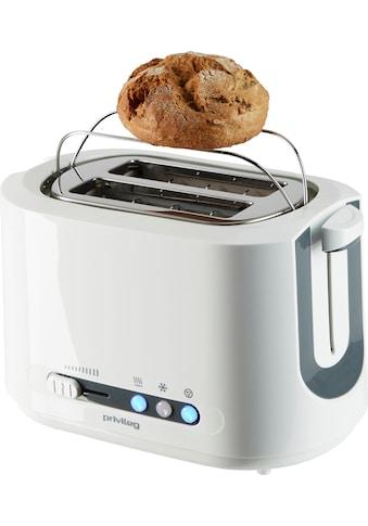 Privileg Toaster »TA8145«, 2 kurze Schlitze, für 2 Scheiben, 850 W kaufen