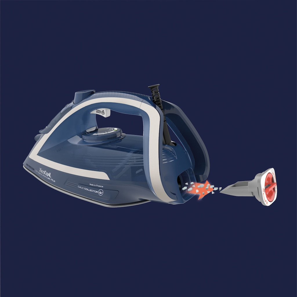Tefal Dampfbügeleisen »FV6830 Ultragliss Plus«, 2800 W, Vertikaldampf, Anti-Kalk
