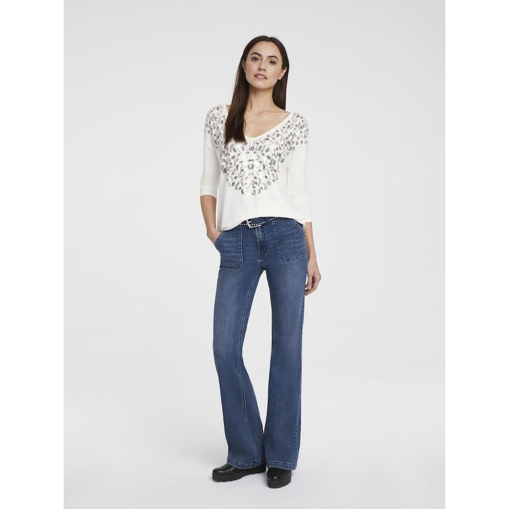 RICK CARDONA by Heine Bootcut-Jeans, mit leichtem Bootcut