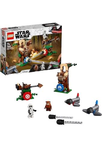 """LEGO® Konstruktionsspielsteine """"Action Battle Endor™ Attacke (75238) LEGO® Star Wars™"""", Kunststoff, (193 - tlg.) kaufen"""