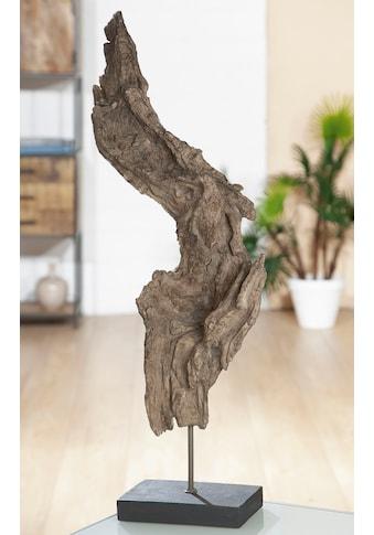 GILDE Dekoobjekt »Baumwurzel«, Höhe 69 cm, in Treibholz-Optik, Wohnzimmer kaufen