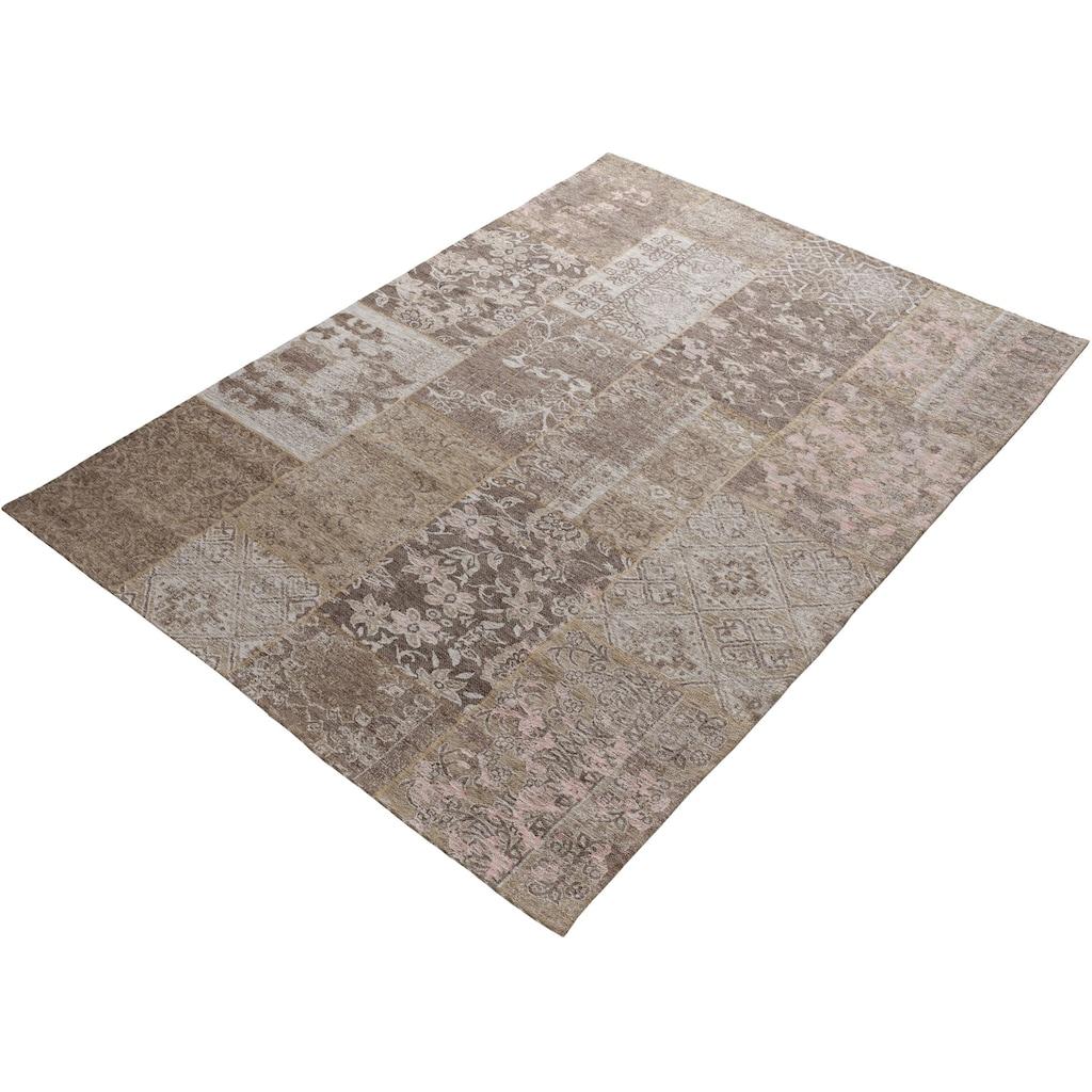 OCI DIE TEPPICHMARKE Teppich »Alanis Allover«, rechteckig, 5 mm Höhe, Flachgewebe, Wohnzimmer