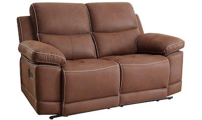 Home affaire 2-Sitzer »Molly«, mit Federkern-Polsterung und einer Relaxfunktion kaufen