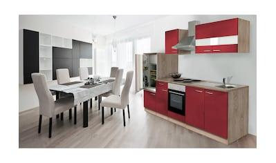 RESPEKTA Küchenzeile, ohne E-Geräte, Gesamtbreite 280 cm kaufen