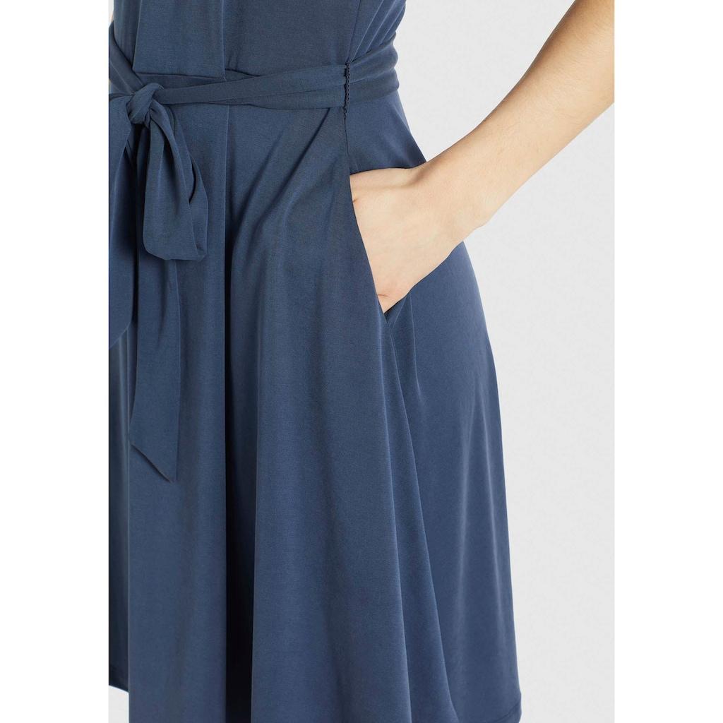 khujo Shirtkleid »LOUANNE«, Sommerkleid mit passenden Bindegürtel in der Taille