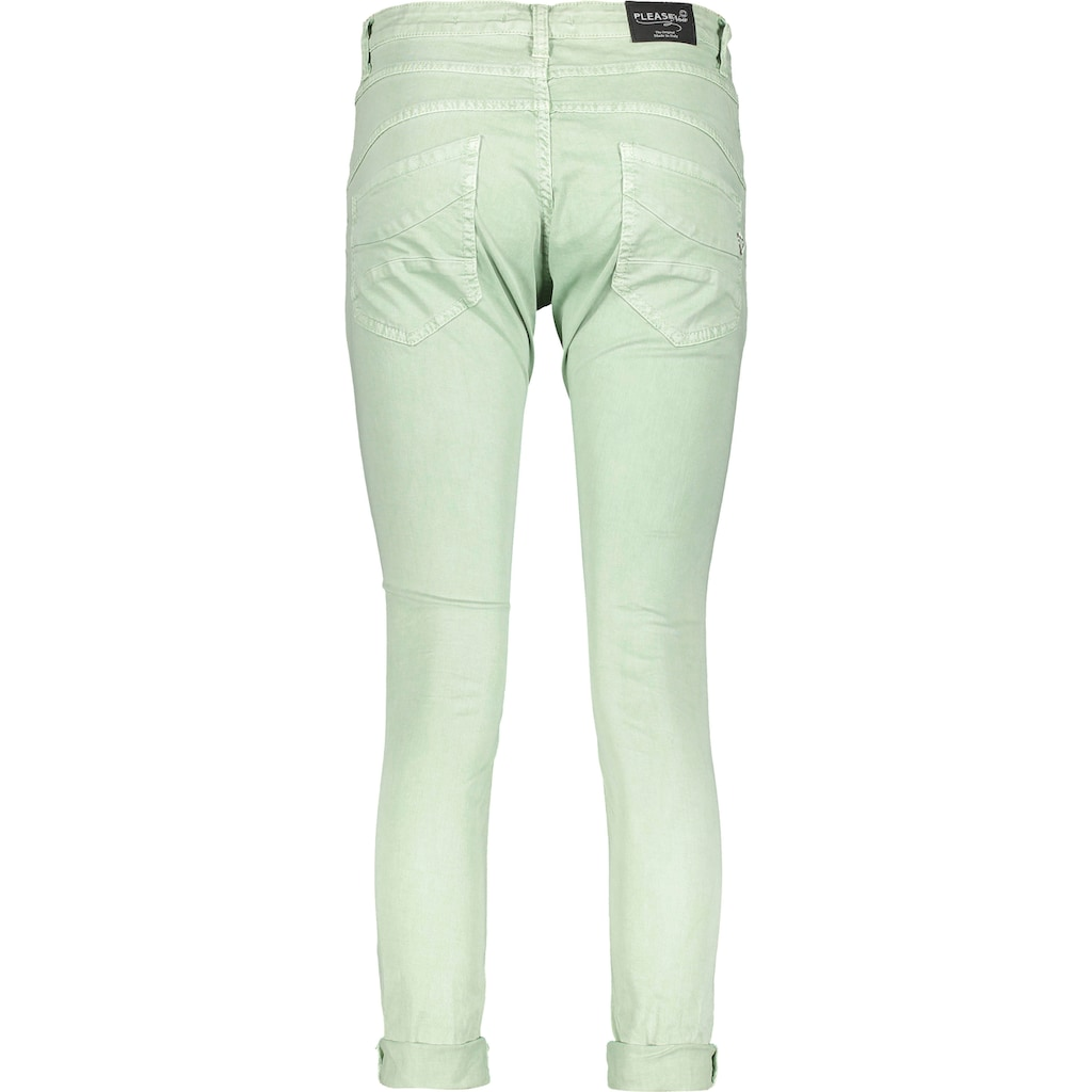 Please Jeans 5-Pocket-Jeans »P78A«, lässige Boyfriend Jeans in leichter Crinkle Optik und krempelbarem Bein
