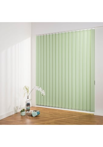 Liedeco Lamellenvorhang »Lamellenvorhang Vertikalanlage perlex - 127 mm Lamelle«, Kürzbare Vertikalanlage Perlex kaufen