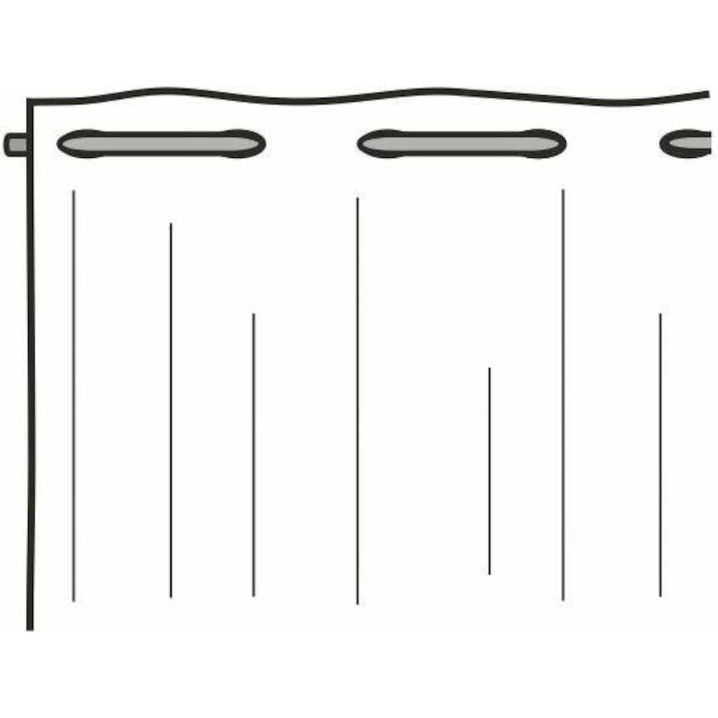 WILLKOMMEN ZUHAUSE by ALBANI GROUP Panneaux »Kerzenschein«, HxB: 45x130, Jacquard-Panneaux