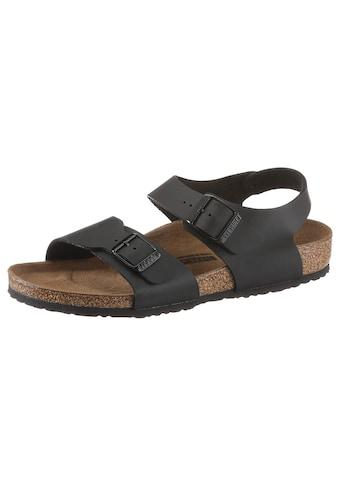Birkenstock Sandale »NEW YORK«, in Schuhweite schmal, mit Schnallenverschlüsse kaufen