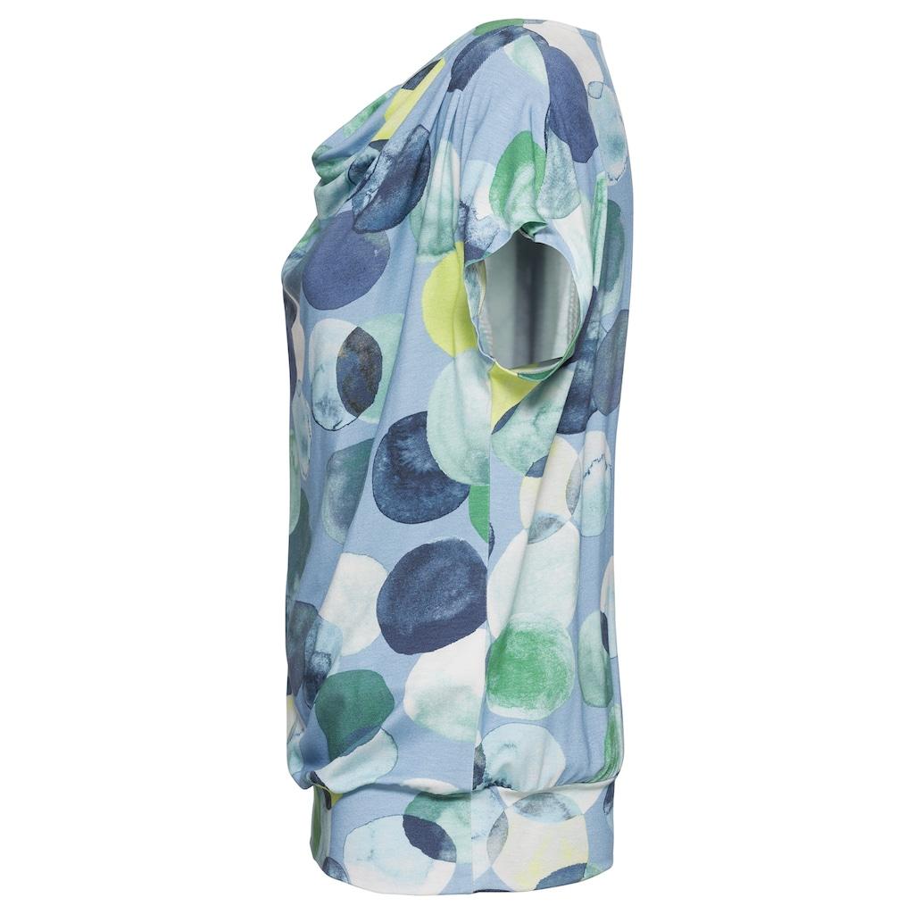 bianca Wasserfallshirt »WIEBKE«, im Punkte-Design mit den aktuellen Trendfarben