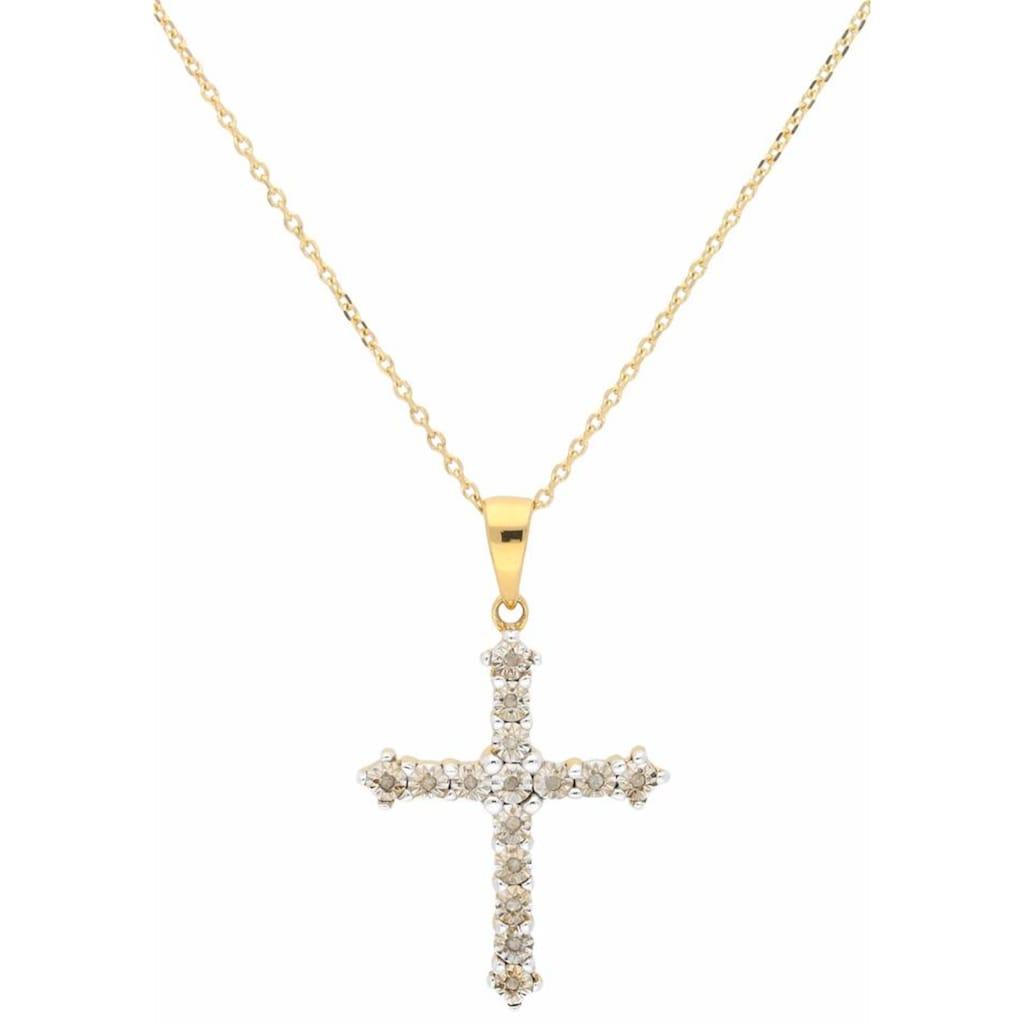 Firetti Kreuzkette, mit Diamanten