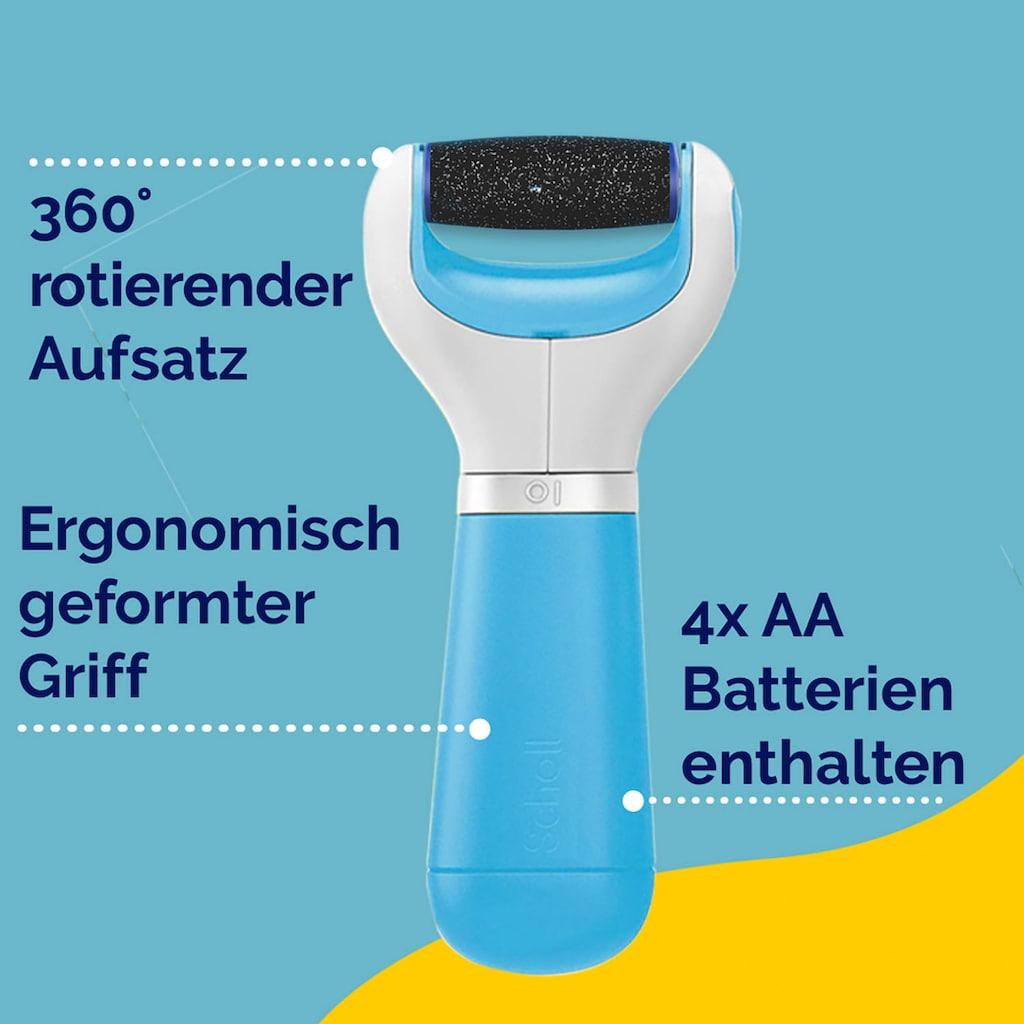 Scholl Elektrischer Hornhautentferner »ExpertCare«, Blau