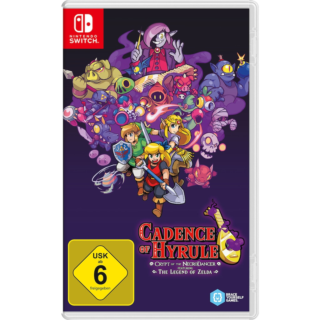 Nintendo Switch Spiel »Cadence of Hyrule - Crypt of the NecroDancer«, Nintendo Switch