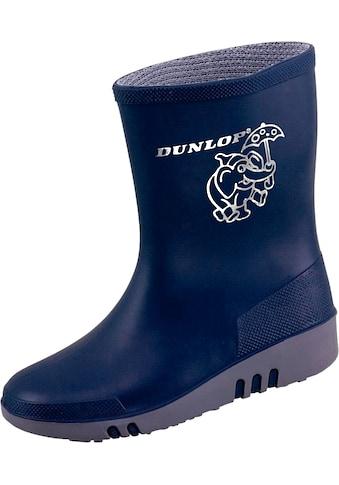 Dunlop Gummistiefel »K151710 Mini«, blau/grau kaufen