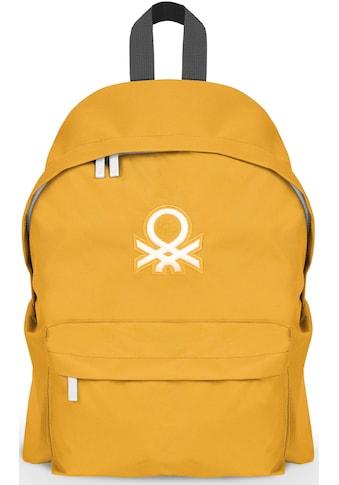 United Colors of Benetton Freizeitrucksack »Journey, yellow« kaufen