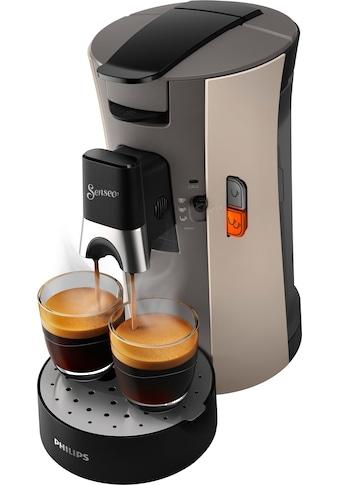 Senseo Kaffeepadmaschine »Select CSA240/30«, 80 Pads & Paddose gratis bei Registrierung kaufen
