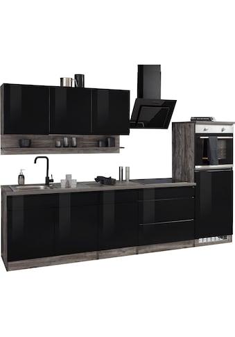 HELD MÖBEL Küchenzeile »Virginia«, mit E-Geräten, Breite 290 cm kaufen