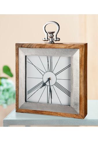 GILDE Standuhr »Uhr Empire«, Höhe 36 cm, eckig, Wohnzimmer kaufen