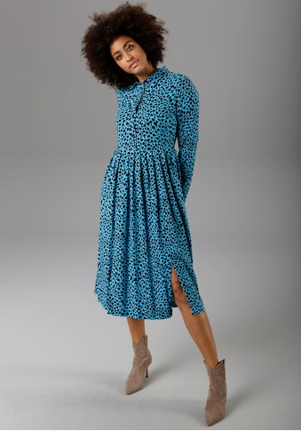 Aniston CASUAL Blusenkleid, mit Animal-Print kaufen