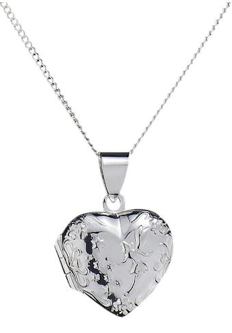 Firetti Kette mit Anhänger »Herz-Medaillon« kaufen