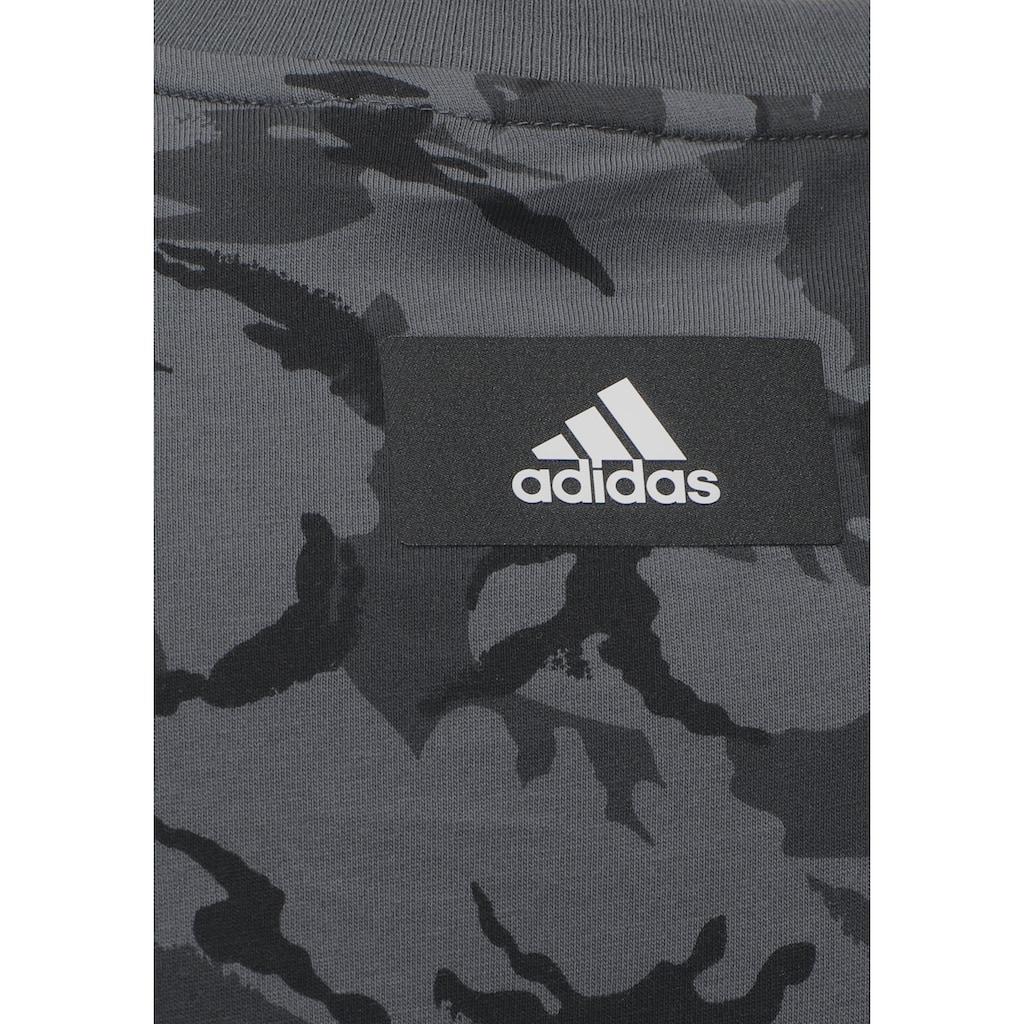 adidas Performance Trainingsshirt »SPORTSWEAR FUTURE ICONS CAMO GRAPHIC TEE«
