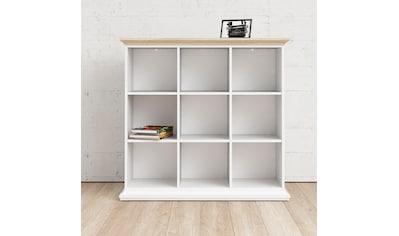 Home affaire Regal, mit einer schönen Deckplatte in eiche/struktur, erstrahlt in... kaufen