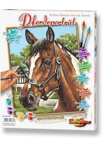 """Schipper Malen nach Zahlen """"Meisterklasse Klassiker  -  Pferdeportrait"""" kaufen"""