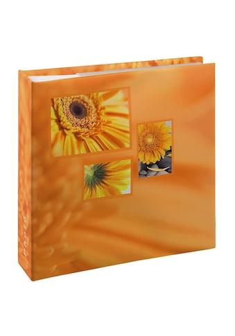 """Hama Memo - Album , für 200 Fotos im Format 10x15 cm, Orange »Fotoalbum """"Singo""""« kaufen"""