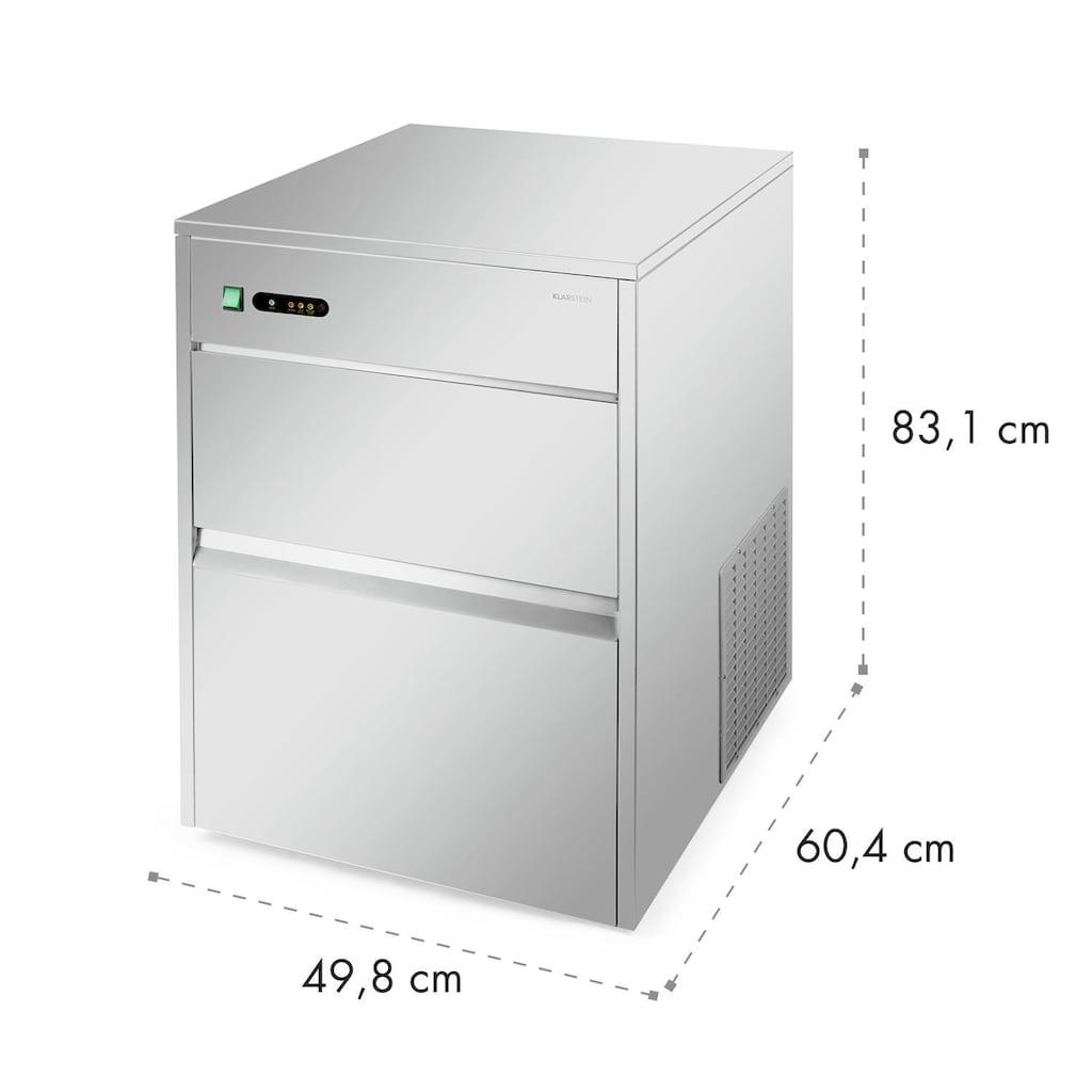 Klarstein Eiswürfelmaschine Industrie 260 W 50kg/Tag Edelstahl »Powericer XXXL«