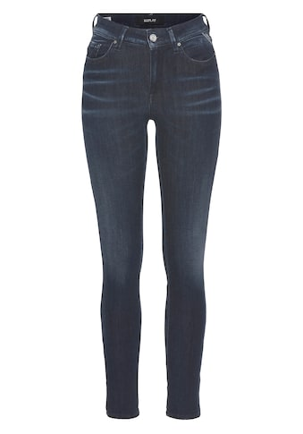 Replay Skinny-fit-Jeans »Luzien-White Shades«, White Shades - HYPERFLEX -RE-USED -... kaufen