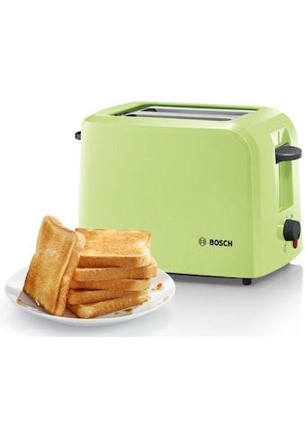 BOSCH Toaster »TAT3A016«, 2 kurze Schlitze, für 2 Scheiben, 980 W kaufen
