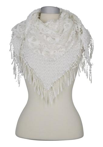 Schal mit Spitze kaufen