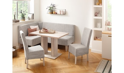 Home affaire Eckbankgruppe »Hellen«, (Set, 4 St.), im rustikalen Landhausstil kaufen