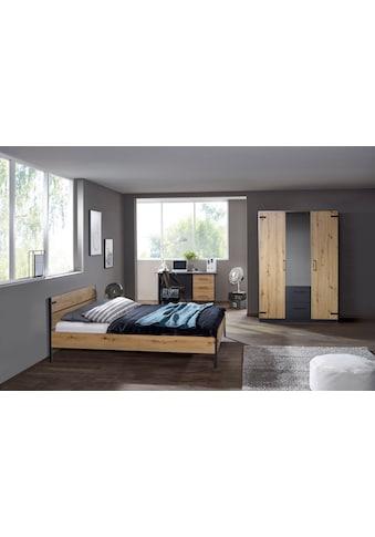 """rauch ORANGE Schlafzimmer-Set »Holmes«, (3 St.), im modernen """"Industrial Style"""" kaufen"""