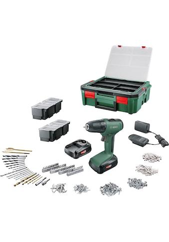 BOSCH Akku-Bohrschrauber »UniversalDrill 18«, (Set), inkl. Akku, Ladegerät & Systembox... kaufen