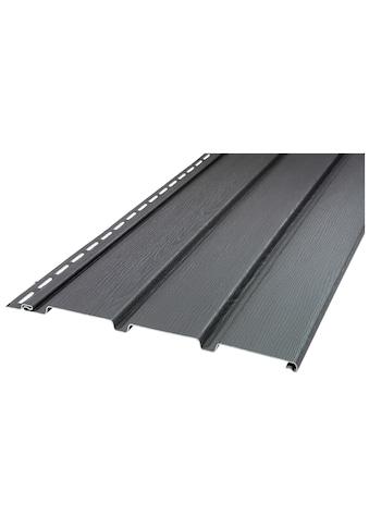 Baukulit VOX Verkleidungspaneel »SOFFIT graphit«, anthrazit kaufen