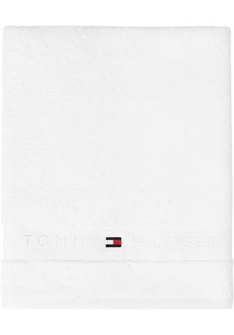 TOMMY HILFIGER Badetuch »Frottee Uni«, (1 St.), in vielen Farben erhältlich kaufen