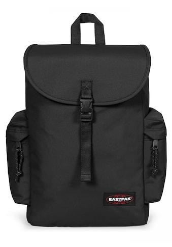 Eastpak Laptoprucksack »AUSTIN+, Black«, enthält recyceltes Material (Global Recycled... kaufen