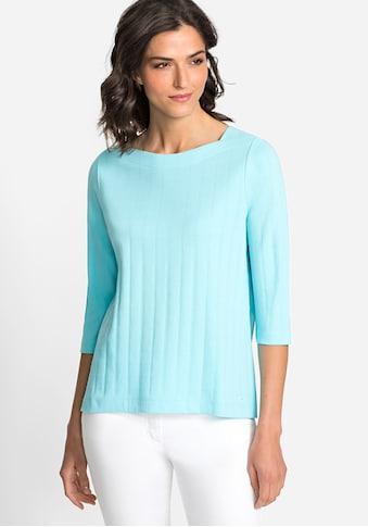 Olsen 3/4-Arm-Shirt, mit U-Boot-Ausschnitt kaufen
