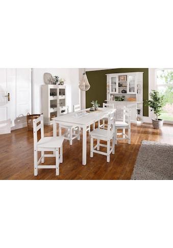 Home affaire Essgruppe »Indra«, (Set, 7 tlg.), Tisch 160 cm breit kaufen