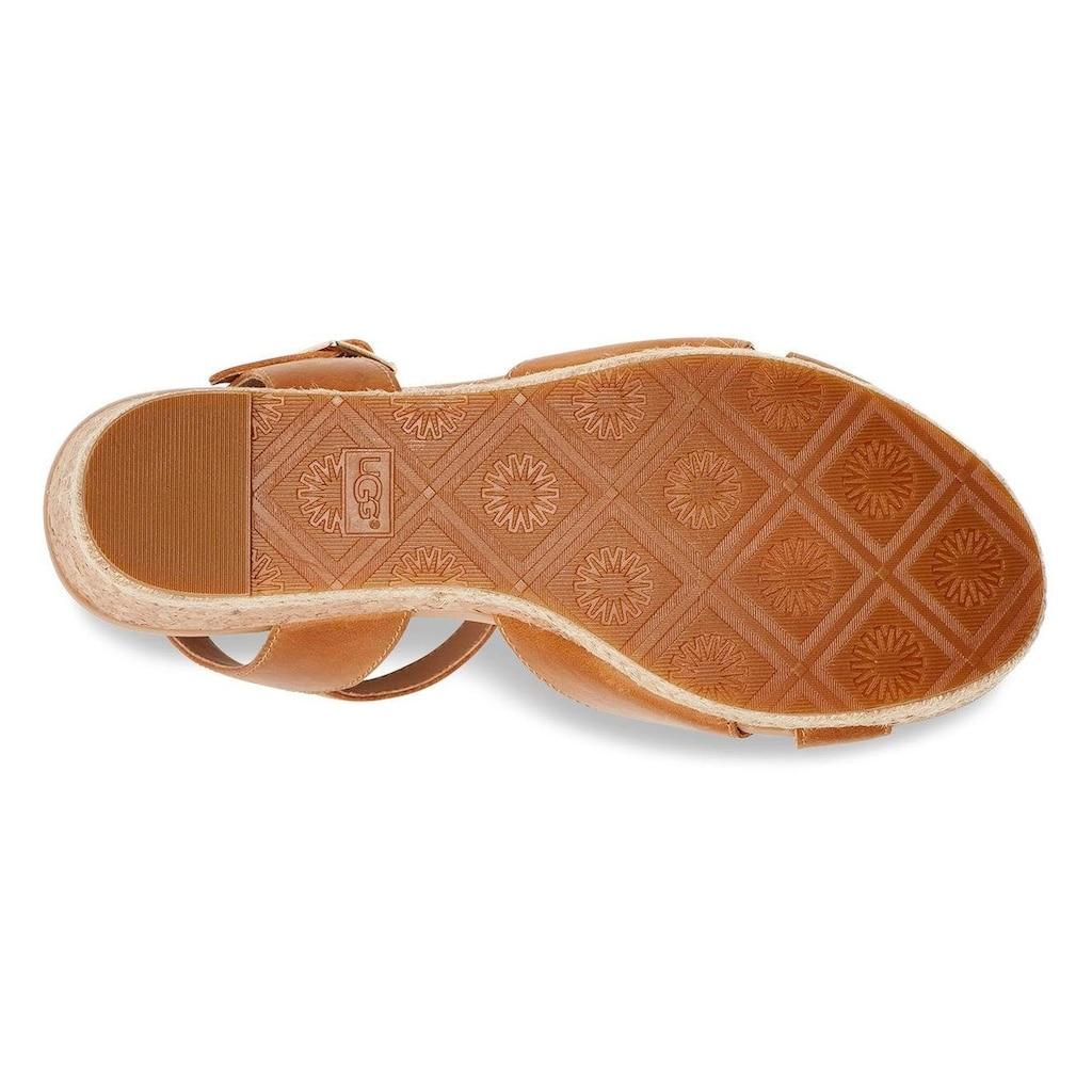 UGG Sandalette »Cloverdale«, im trendigen Retro-Look