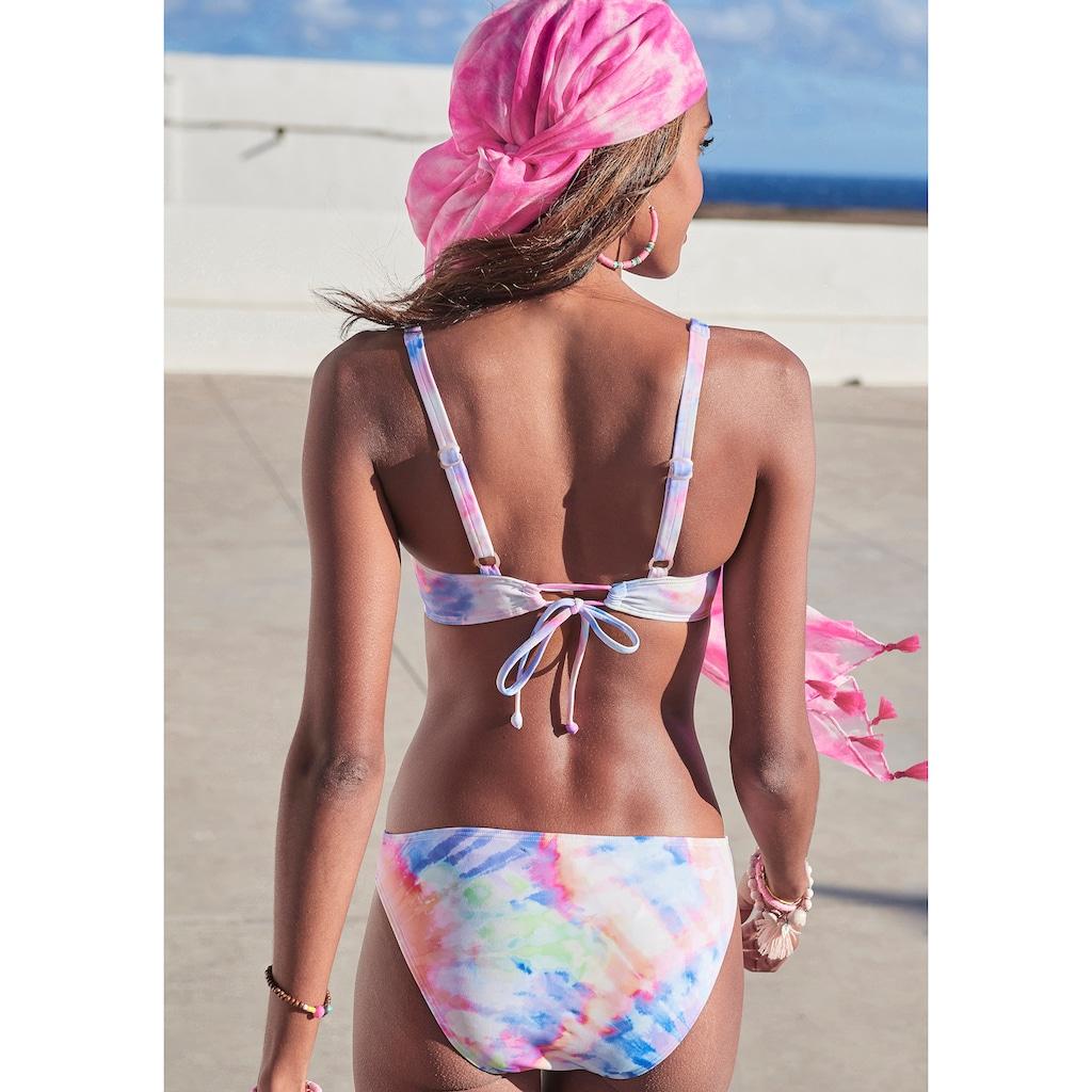 KangaROOS Bügel-Bikini, im Batik-Design