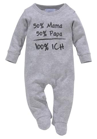 Klitzeklein Schlafanzug »aus Biobaumwolle« kaufen