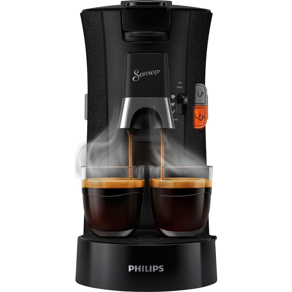 Senseo Kaffeepadmaschine »Select ECO CSA240/20«, inkl. Gratis-Zugaben im Wert von € 14,- UVP zusätzlich zum Willkommens-Paket (80 Pads & Paddose gratis bei Registrierung)