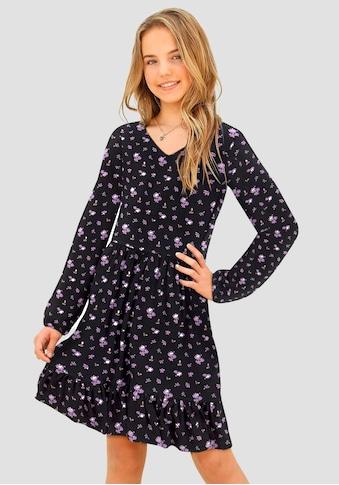 Arizona Jerseykleid, mit tollem Blumendruck kaufen