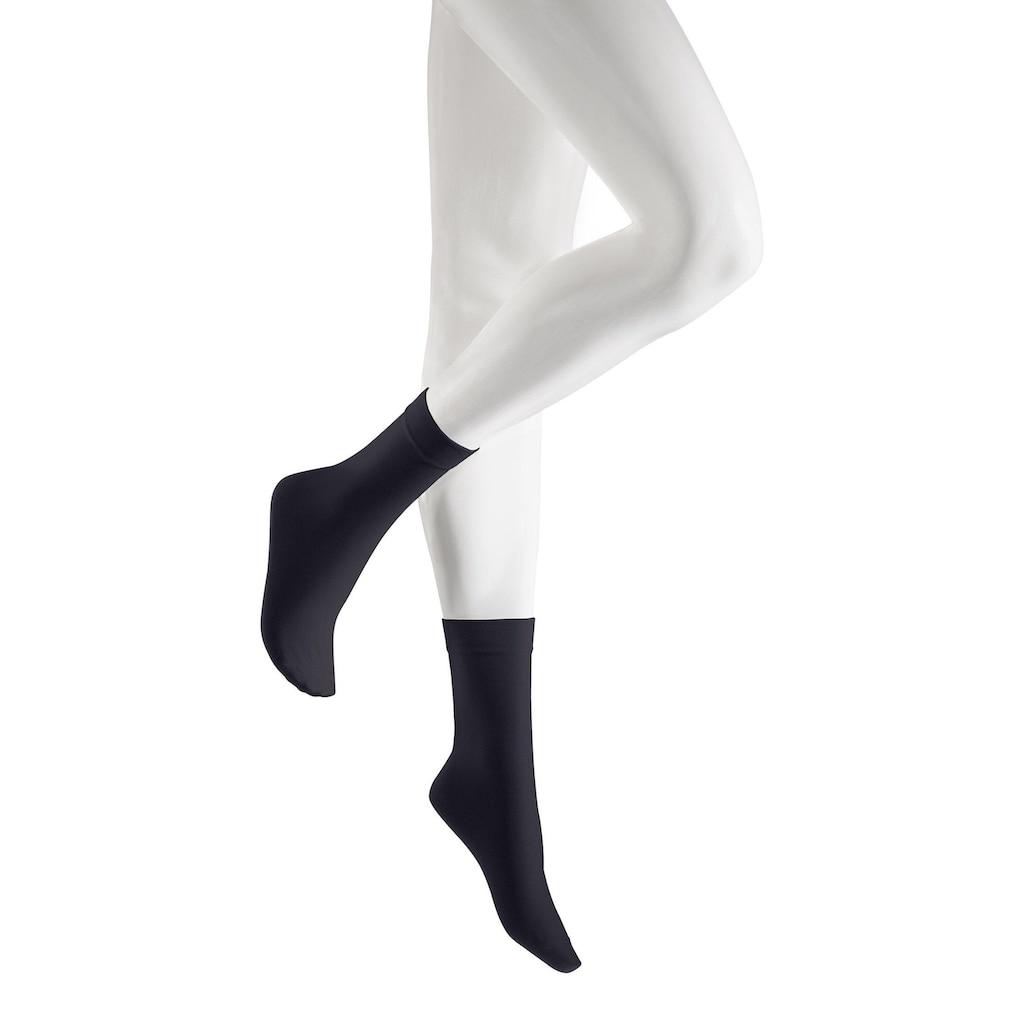 KUNERT Socken »Sensual Cotton«, mit extra hohem Baumwollanteil